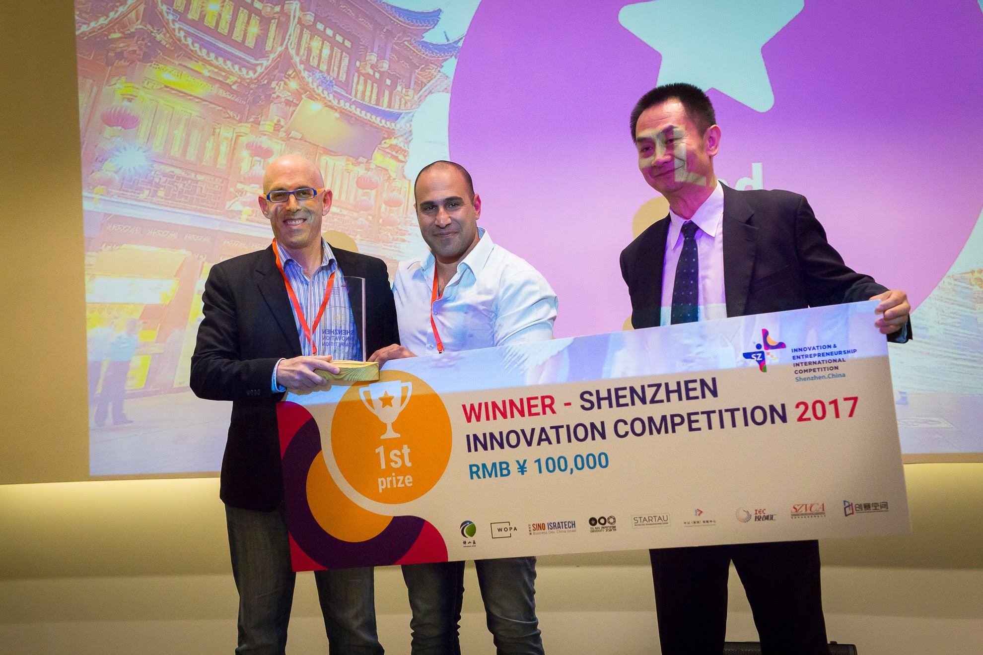 Superb Reality to win 1st award and RMB 100,000