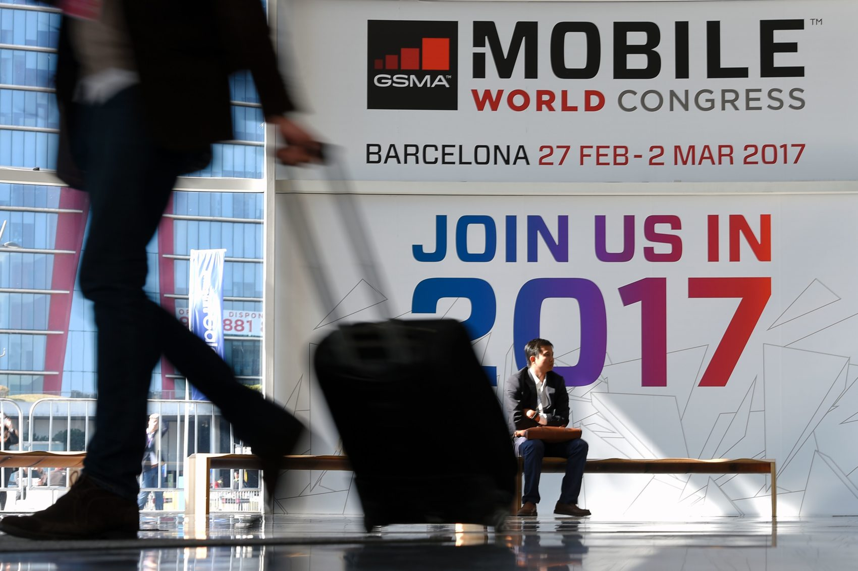 The Mobile World Congress 2017 in Barcelona